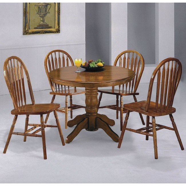 Farm House Round Dining Room Set