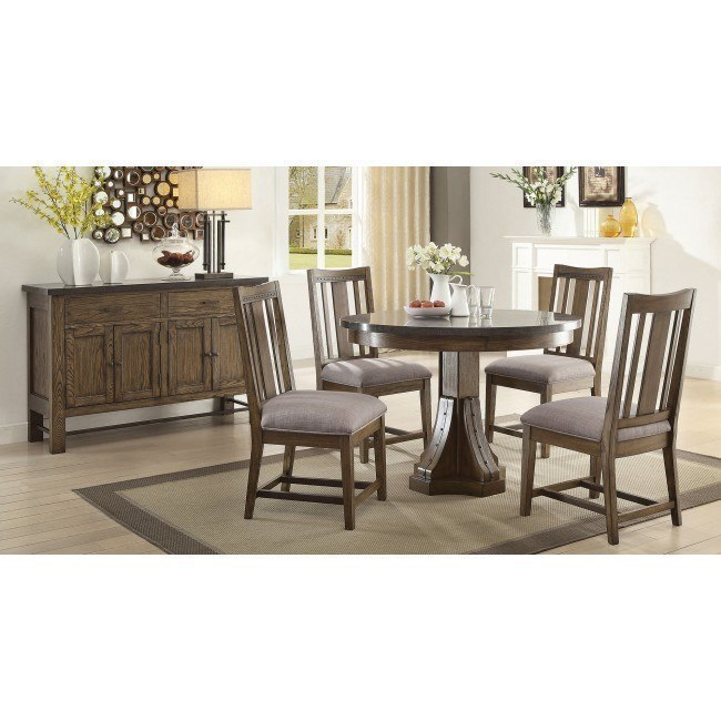 Willowbrook Round Dining Room Set