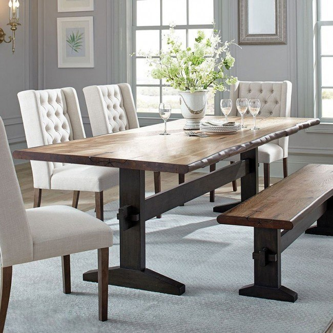 Burnham Live Edge Dining Table