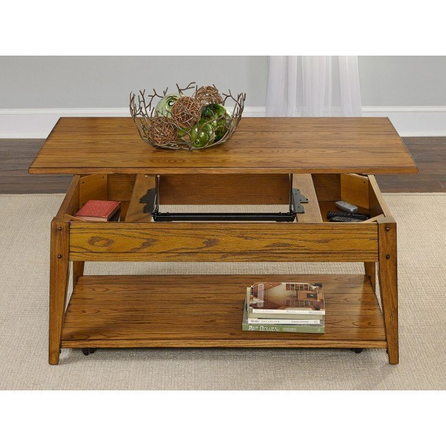 Lake House Lift Top Occasional Table Set