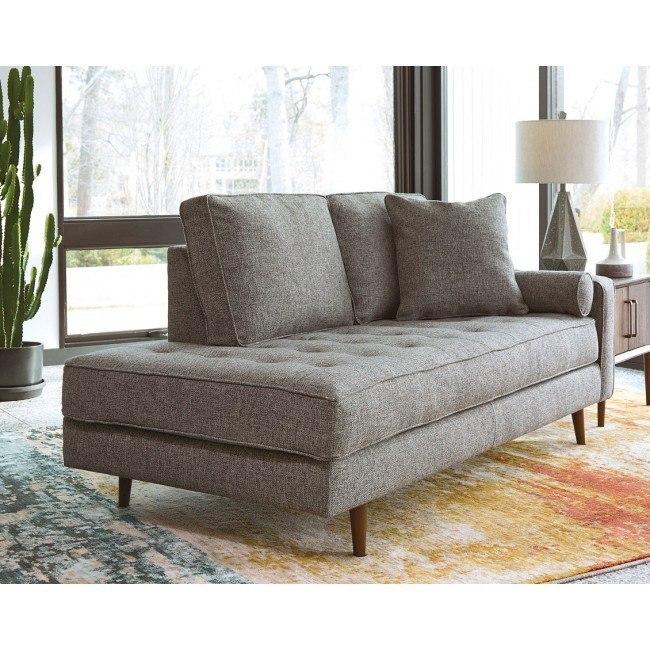 Zardoni Charcoal Right Corner Chaise By Signature Design