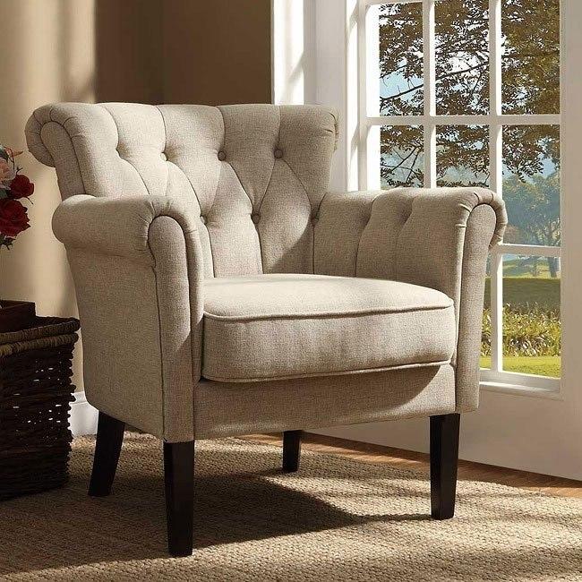 Admirable Barlowe Oatmeal Linen Accent Chair Theyellowbook Wood Chair Design Ideas Theyellowbookinfo