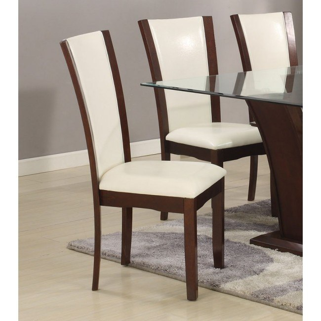 Camelia Side Chair (White) (Set of 2)