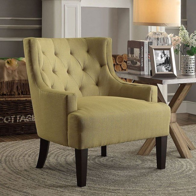Dulce Accent Chair (Mustard)