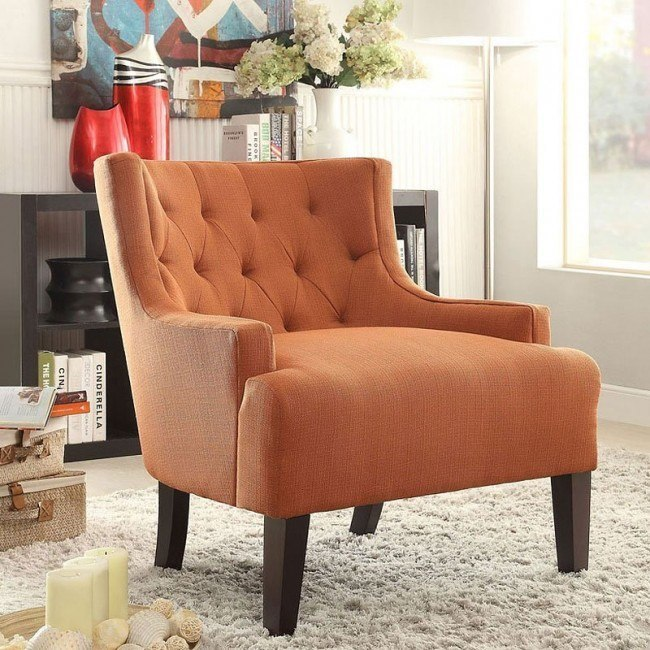 Dulce Accent Chair (Orange)