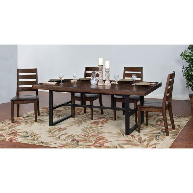 Weathered Pine Dining Room Set