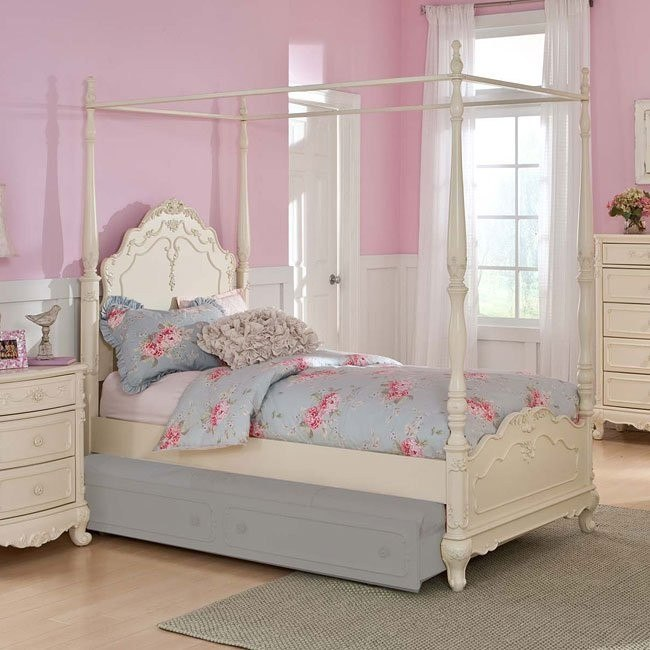 Cinderella Youth Canopy Bed