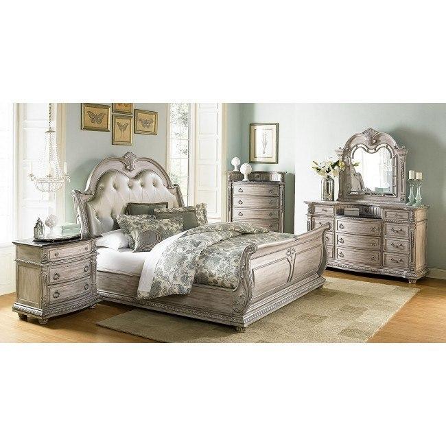 Palace II Sleigh Bedroom Set