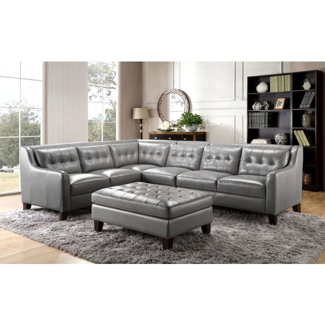 new products 6fb02 0aa08 Malibu Modular Leather Sectional