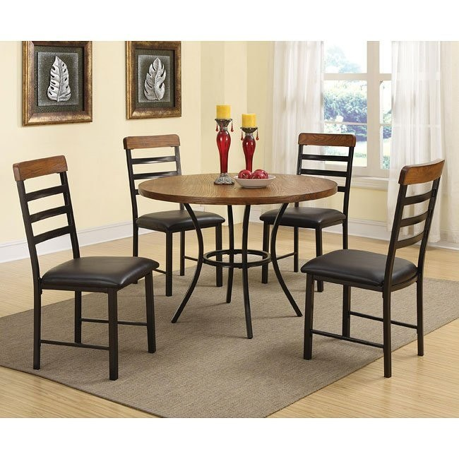 Noah 5 Piece Dining Table Set By