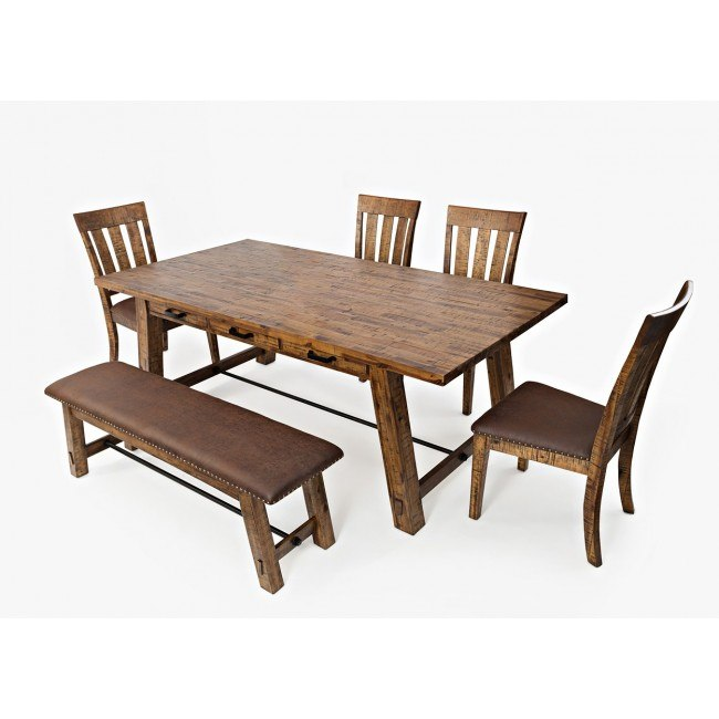 Cannon Valley Trestle Dining Room Set