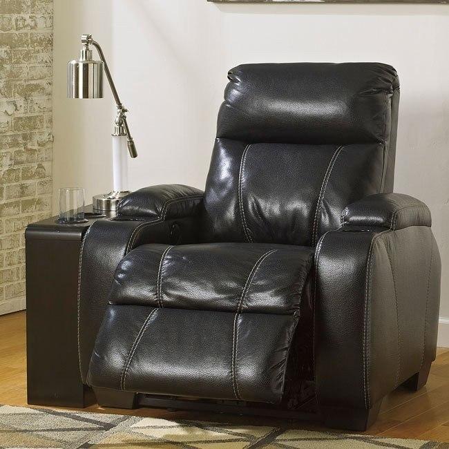 Wondrous Nebula Black Power Recliner Machost Co Dining Chair Design Ideas Machostcouk