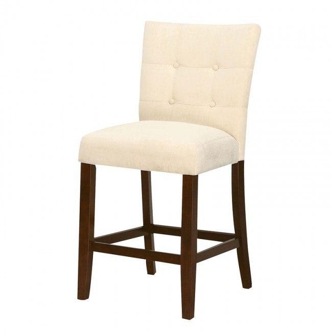 Baldwin Counter Height Chair (Beige) (Set of 2)
