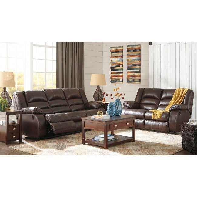 Levelland Cafe Power Reclining Living Room Set