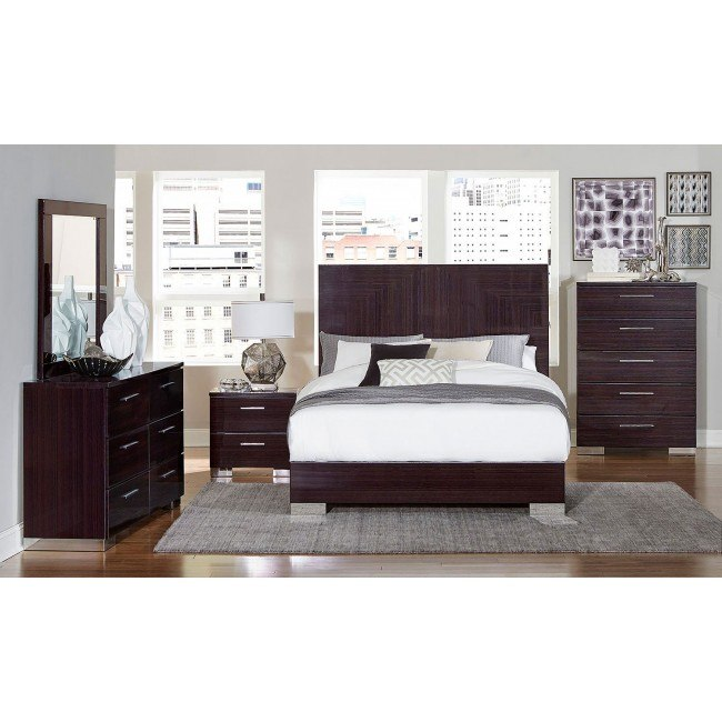 Moritz Low Profile Bedroom Set