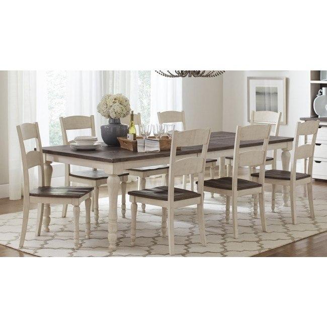 Madison County Rectangular Dining Room Set (Vintage White)