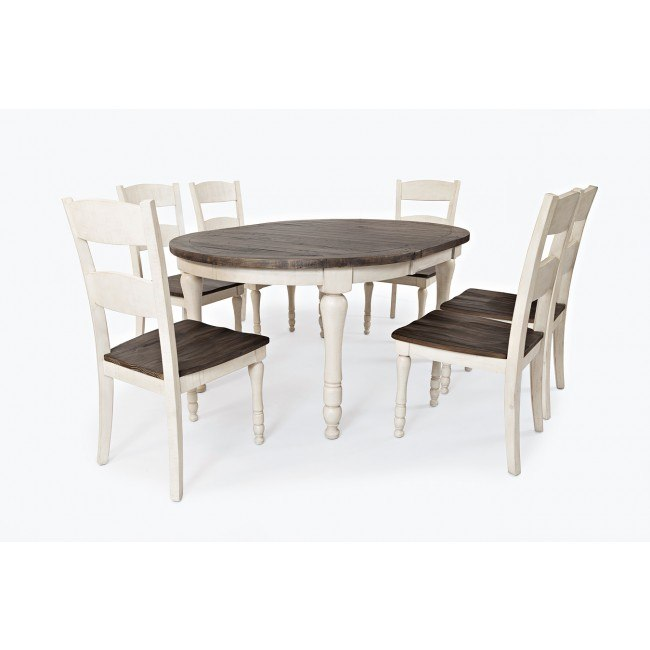 Madison County Round To Oval Dining