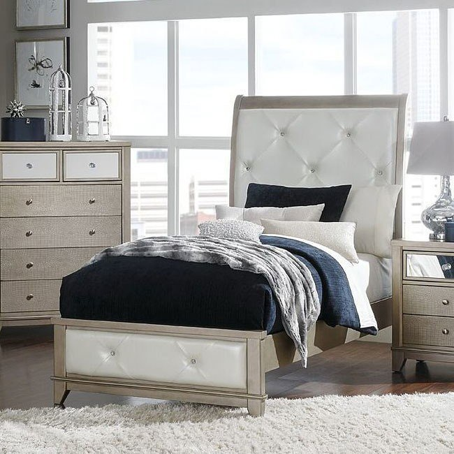 Odelia Youth Sleigh Bed