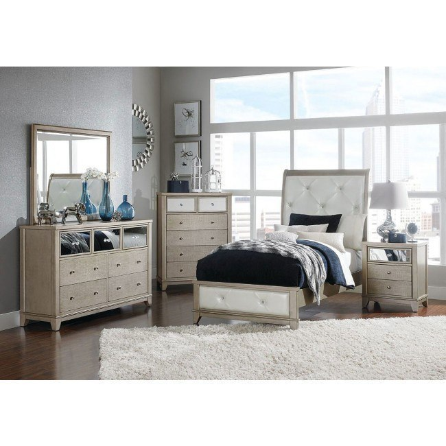 Odelia Youth Sleigh Bedroom Set