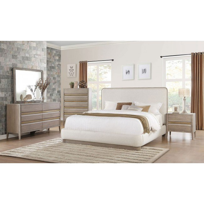 Aristide Upholstered Bedroom Set