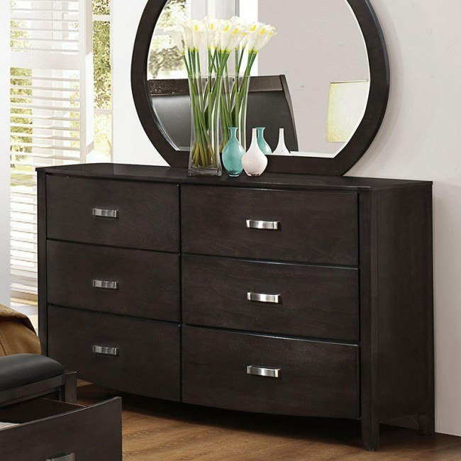 Lyric Dresser (Brownish Grey)