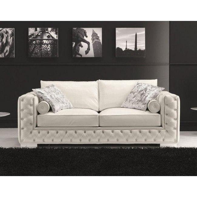 Vanity Sofa Sleeper (White)