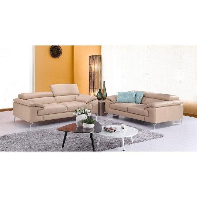 A973 Leather Living Room Set (Peanut)