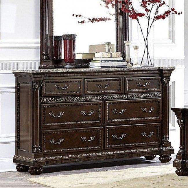 Russian Hill Dresser (Warm Cherry)
