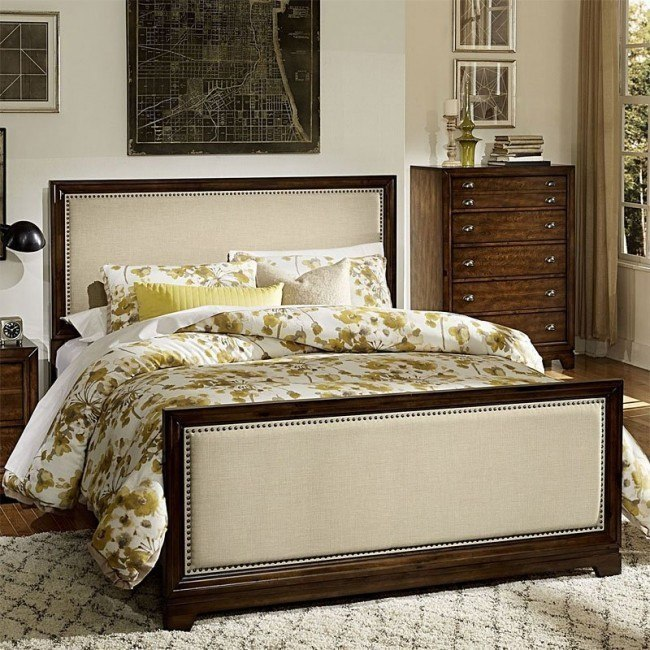 Bernal Heights Panel Bed