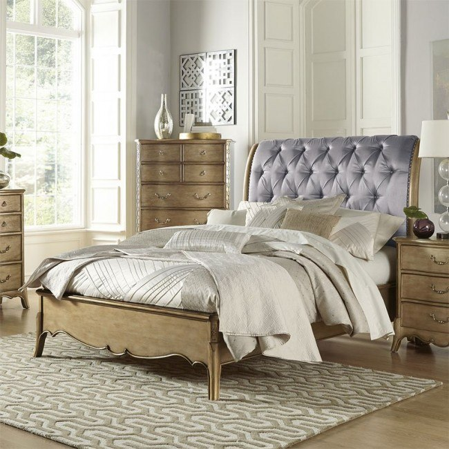 Chambord Sleigh Bed