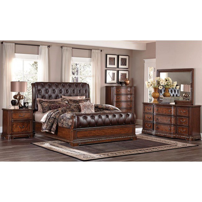 Brompton Lane Sleigh Bedroom Set