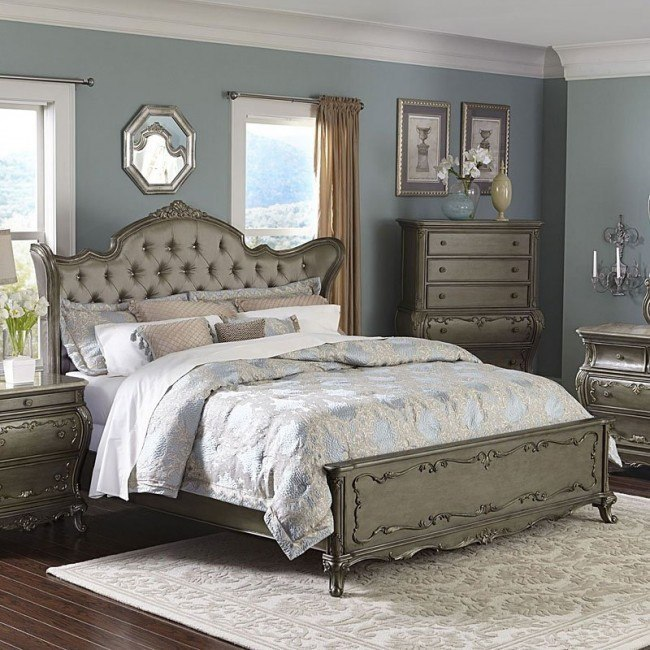Florentina Wing Bed