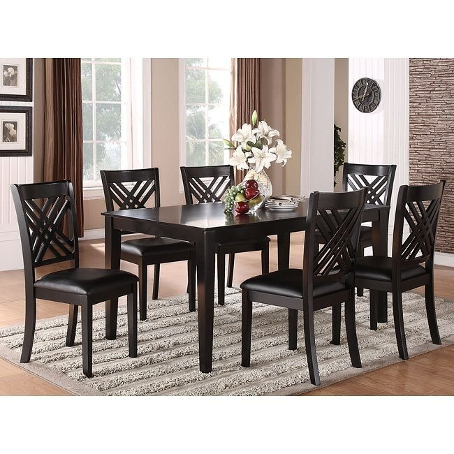 Brooklyn 7 Piece Dining Room Set By Standard Furniture 1 Reviews