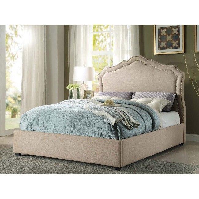 Delphine Upholstered Bed