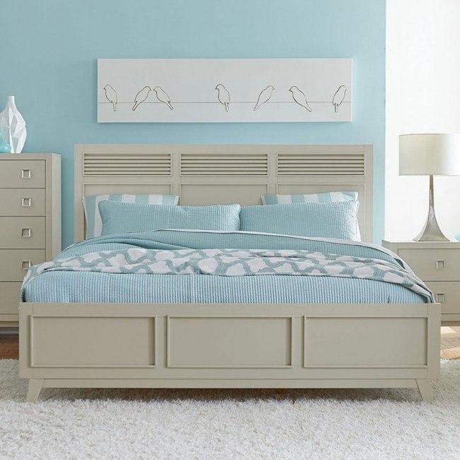 Valpico Panel Bed