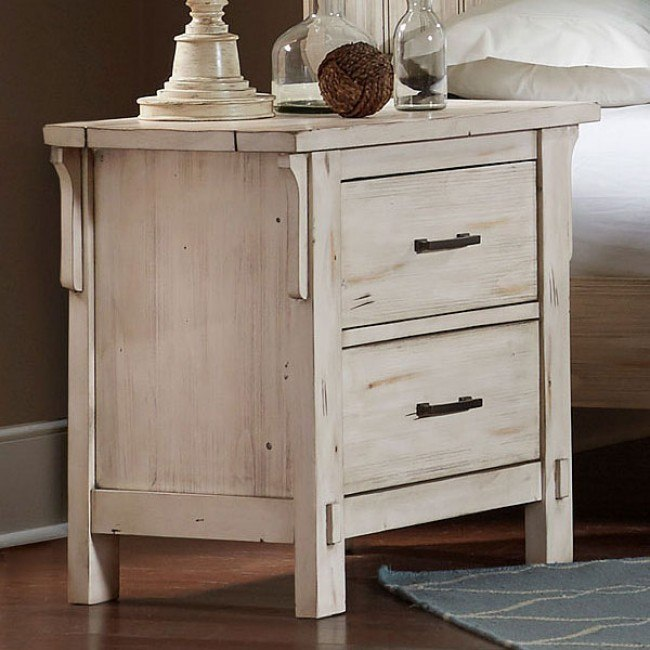 Terrace Nightstand (Antique White)