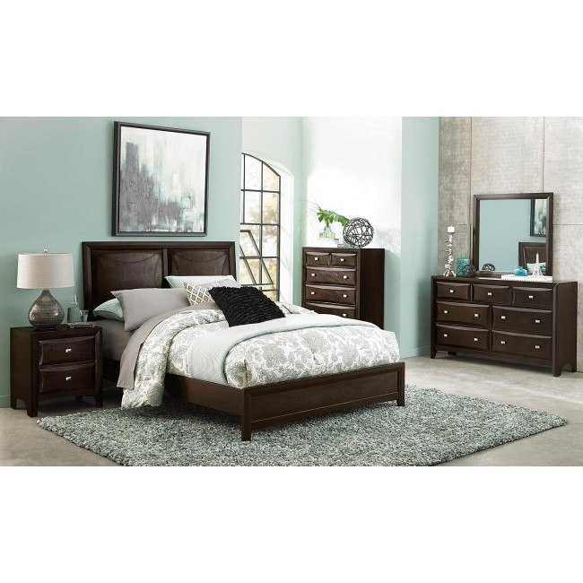 Summerlin Panel Bedroom Set