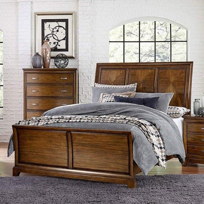Terron Sleigh Bed