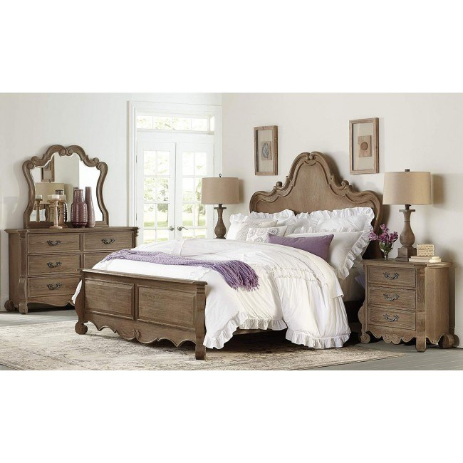 Chrysanthe Panel Bedroom Set