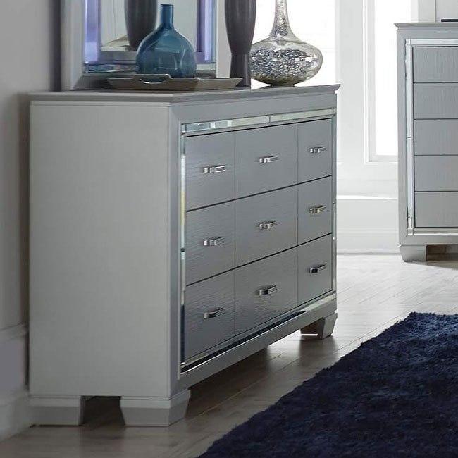 Allura Dresser (Silver)