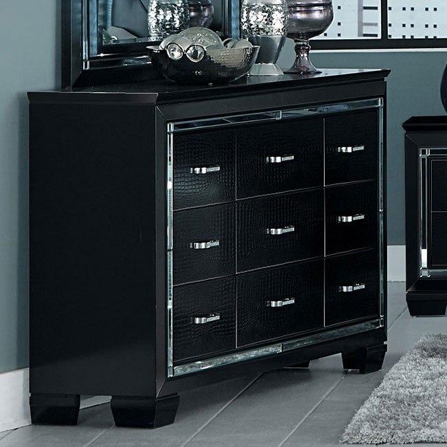 Allura Dresser (Black)