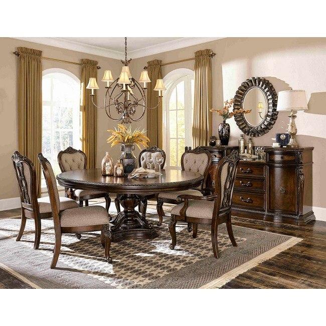 Bonaventure Park Round Dining Room Set