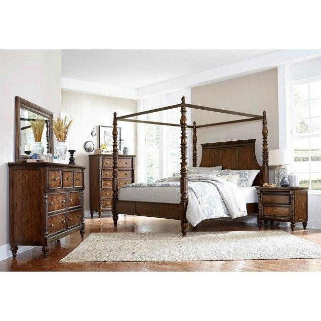 Verlyn Canopy Bedroom Set