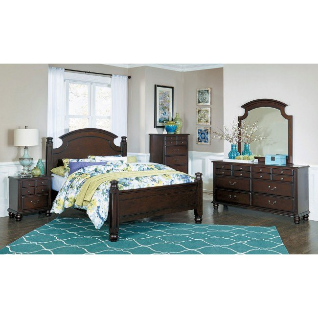 Frederica Low Post Bedroom Set