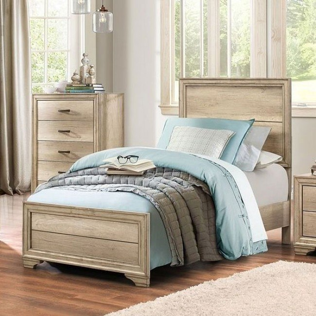 Lonan Youth Panel Bed