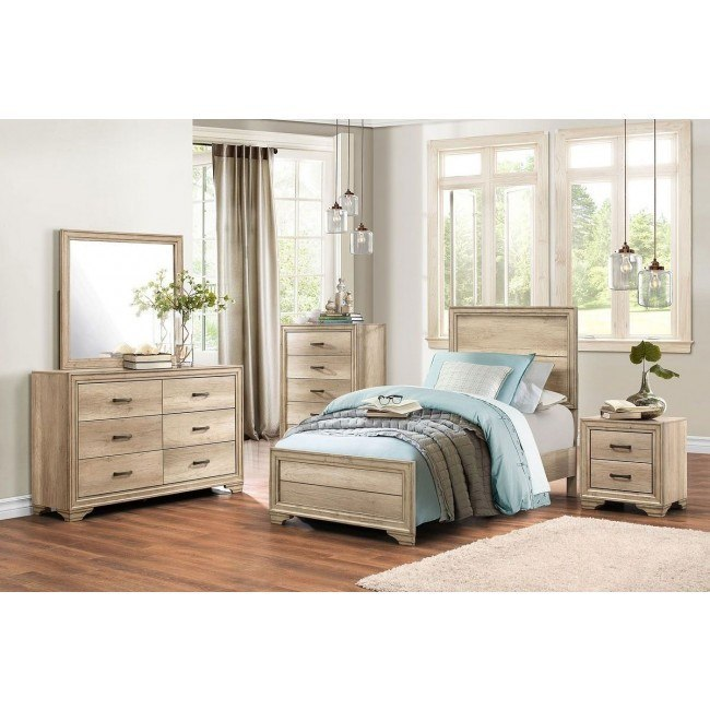 Lonan Youth Panel Bedroom Set