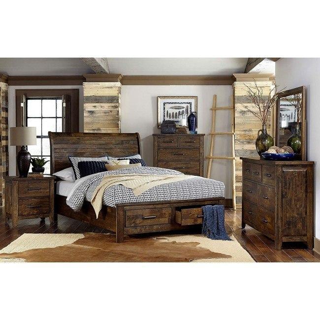 Jerrick Storage Bedroom Set