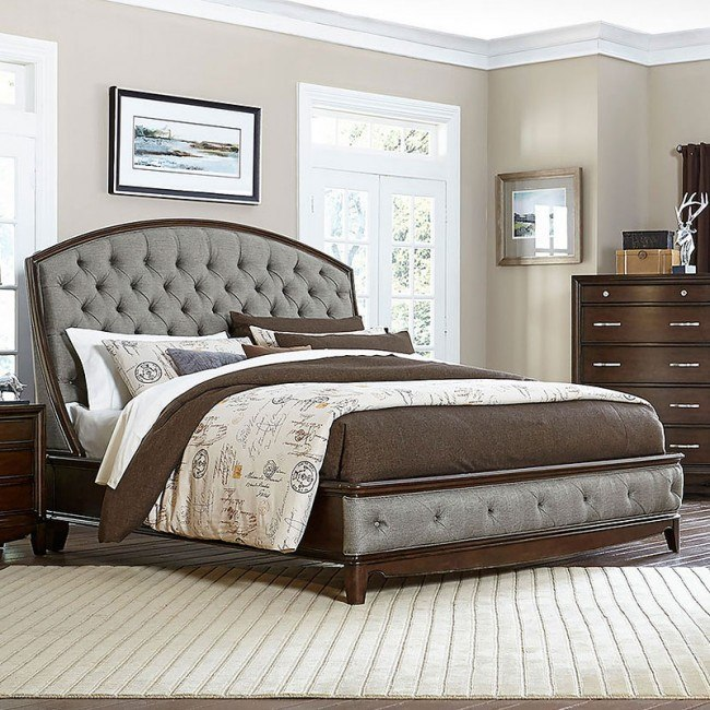Yorklyn Upholstered Bed