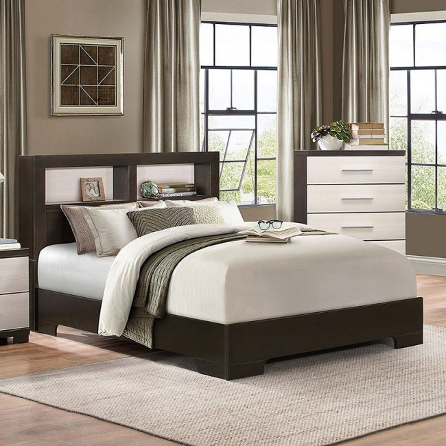 Pell Bookcase Bed