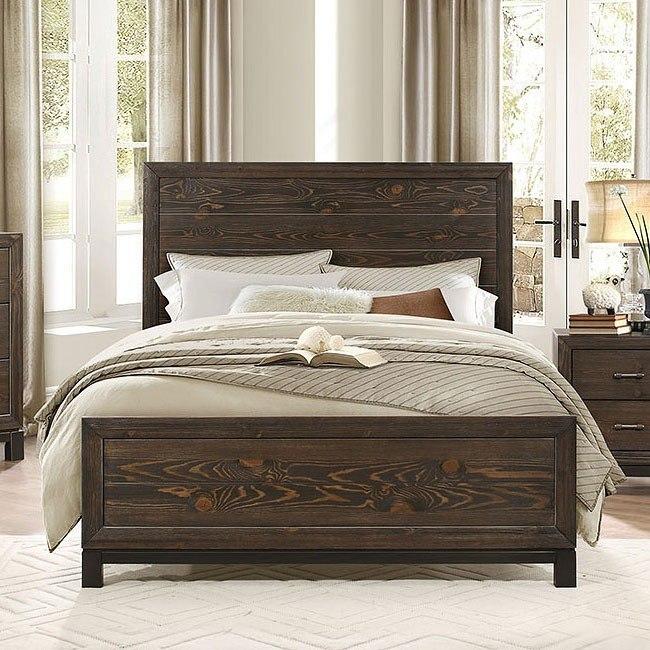Branton Panel Bed